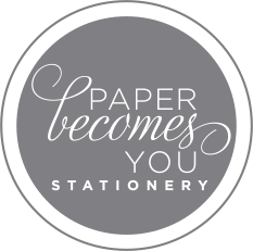 Paper Becomes You Stationery